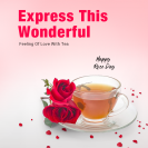 Rose Day Special Tea