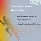 Pure Herbal Green Tea For Men